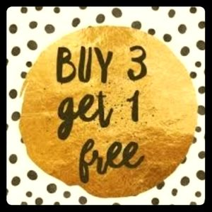 Buy any 3 items under $20 and get 1 free!